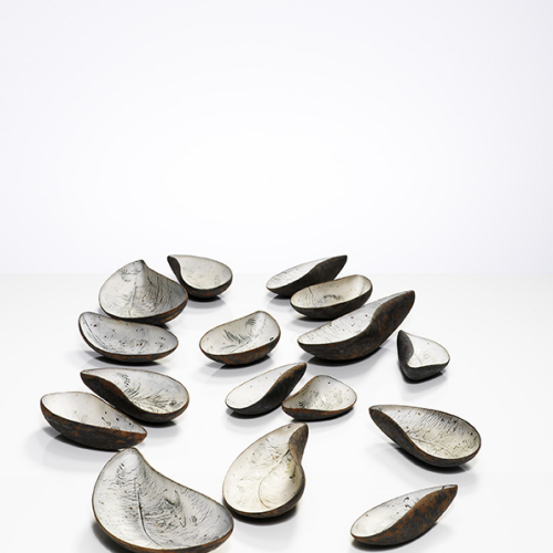 Mussel bowls by Annie Turner