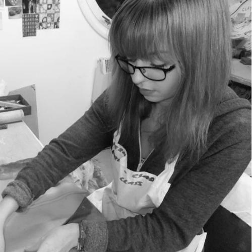 Sara Dodd Ceramics studio