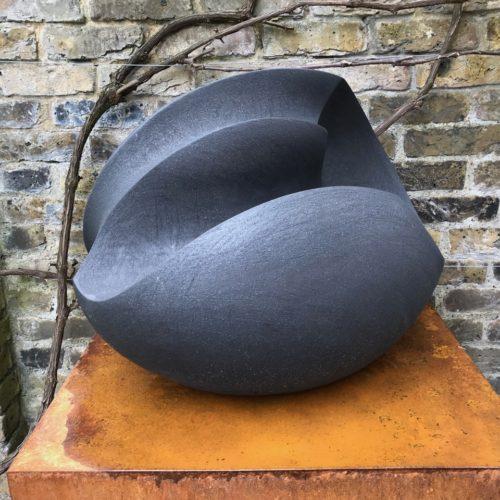 James Oughtibridge Charcoal Blade Form, Joanna Bird