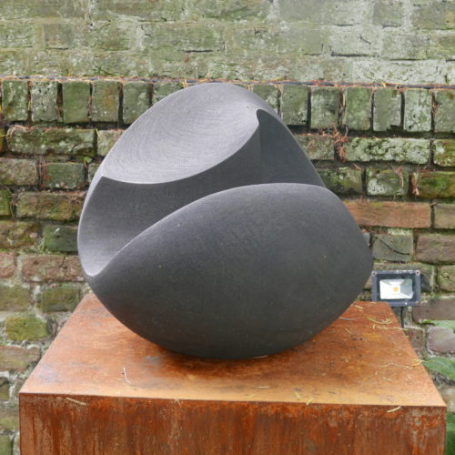Charcoal Concave Form, Joanna Bird