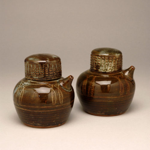 Michael Cardew Soy Pots at Joanna Bird Contemporary Collections