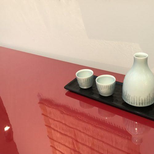 Chris Keenan Sake Set at Joanna Bird Contemporary Collections