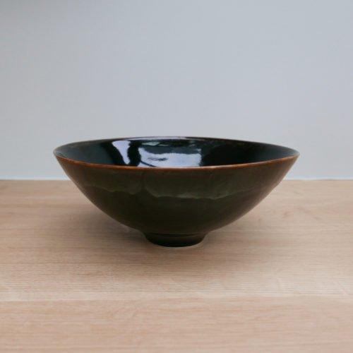 Chris Keenan Tenmoku Bowl at Joanna Bird Contemporary Collections
