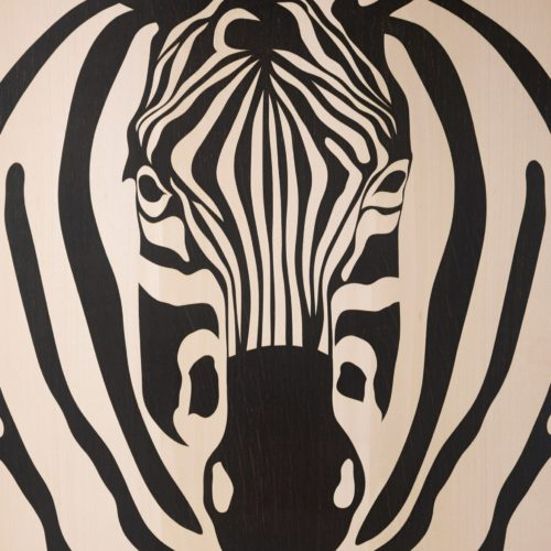 John Makepeace Zebra at Joanna Bird Contemporary Collections