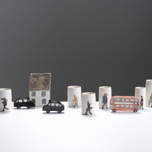 Helen Beard Tiny Characters at Joanna Bird Contemporary Collections