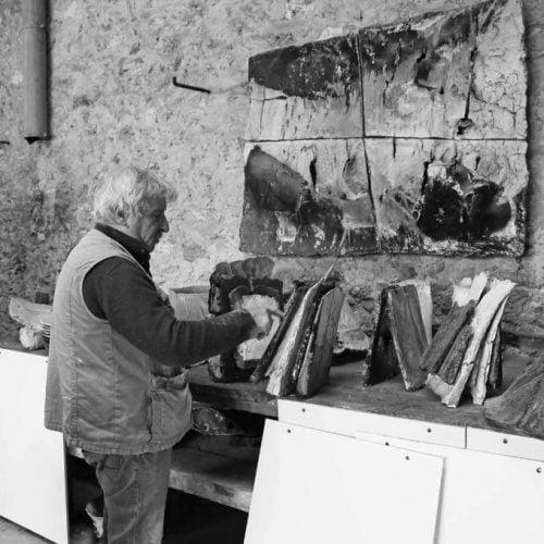 Claude Champy in the studio