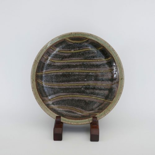 Edward Hughes, Striped Plate at Joanna Bird Contemporary Collections