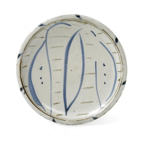 Michael Cardew Vume Lily plate at Joanna Bird Contemporary Collections