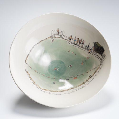 Helen Beard Hamstead Pond at Joanna Bird Contemporary Collections