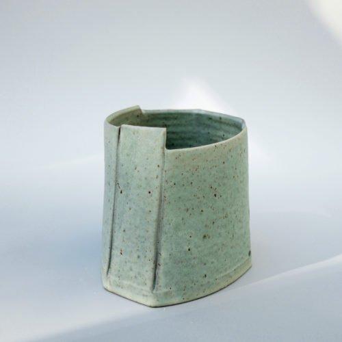 Carina Ciscato, large coloured bucket pot, Joanna Bird Contemporary Collections