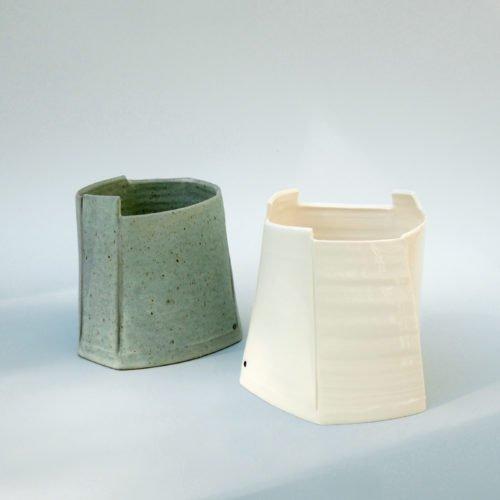 Carina Ciscato, large bucket pots, Joanna Bird Contemporary Collections