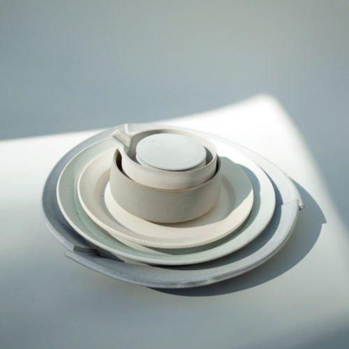 Carina Ciscato, plate set, Joanna Bird Contemporary Collections