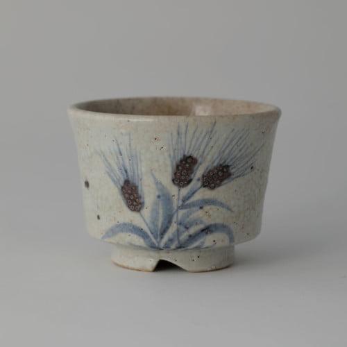 Soon-Tak Ji, Barley Pattern Tea Bowl, Joanna Bird Contemporary Collections