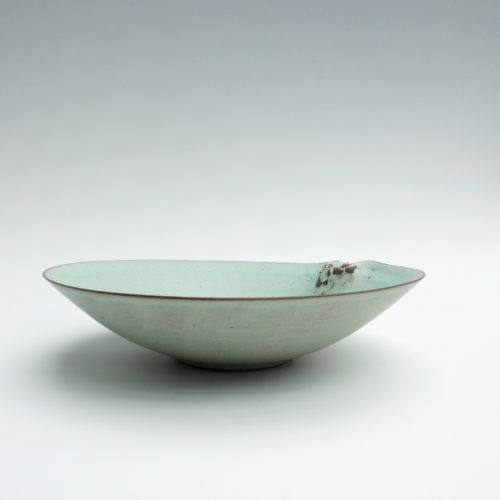 Hyejeong Kim's Carpel Peppermint Green Shallow Dish, Joanna Bird Contemporary Collections