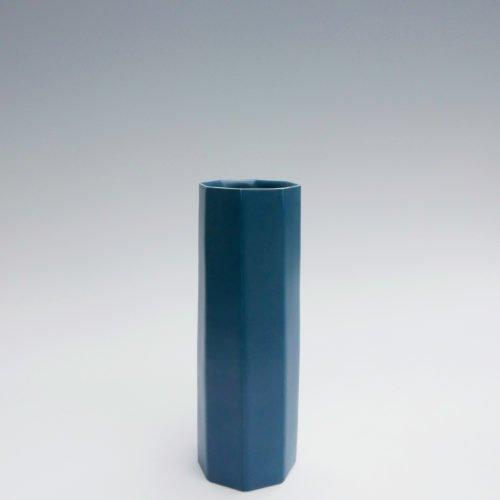 Jaejun Lee-Blue Octagonal Cylinder, Joanna Bird Contemporary Collections