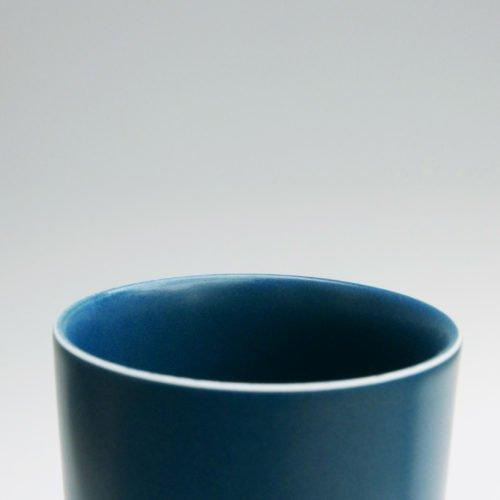 Jaejun Lee-Blue Semi Octagonal Cylinder, Joanna Bird Contemporary Collections