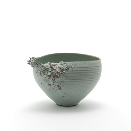 Hyejeong Kim's medium Carpel Bowl in peppermint, Joanna Bird Contemporary Collections