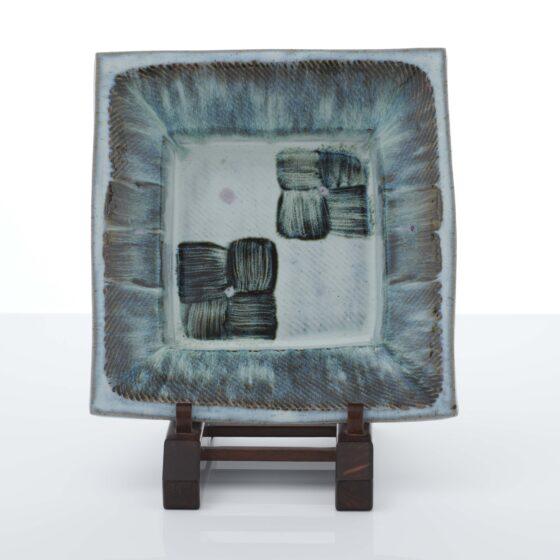 William Plumptre, Large Square Plate