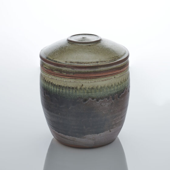 Richard Batterham, Large Lidded Caddy